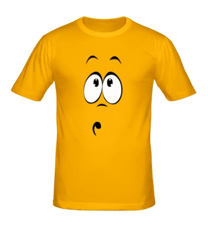 Мужская футболка «Сильно удивлен»