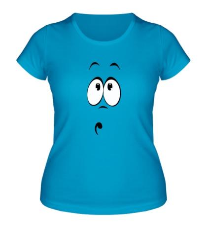 Женская футболка Сильно удивлен