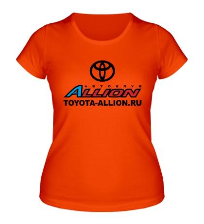 Женская футболка Toyota Allion Club