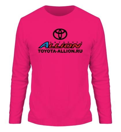 Мужской лонгслив «Toyota Allion Club»