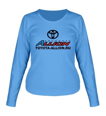 Женский лонгслив Toyota Allion Club