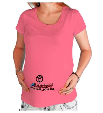 Футболка для беременной «Toyota Allion Club»