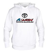 Толстовка с капюшоном Toyota Allion Club