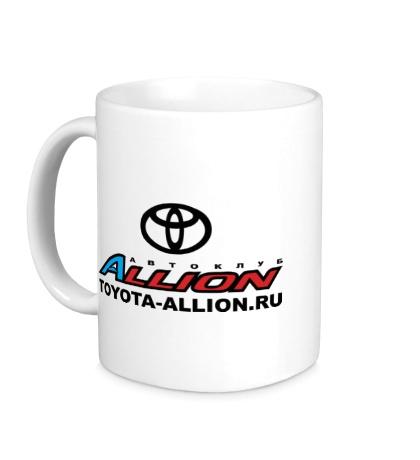 Керамическая кружка Toyota Allion Club