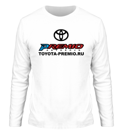 Мужской лонгслив Toyota Premio Club