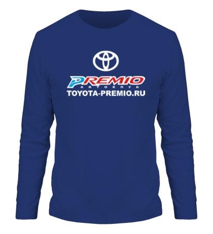 Мужской лонгслив «Toyota Premio Club»