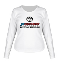 Женский лонгслив Toyota Premio Club