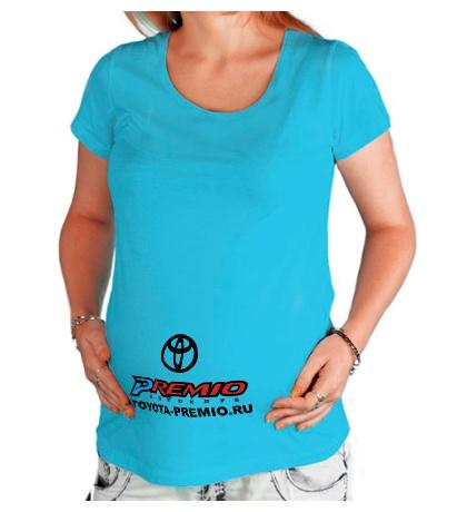 Футболка для беременной Toyota Premio Club
