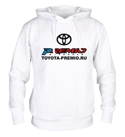 Толстовка с капюшоном Toyota Premio Club