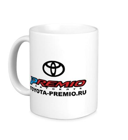 Керамическая кружка Toyota Premio Club