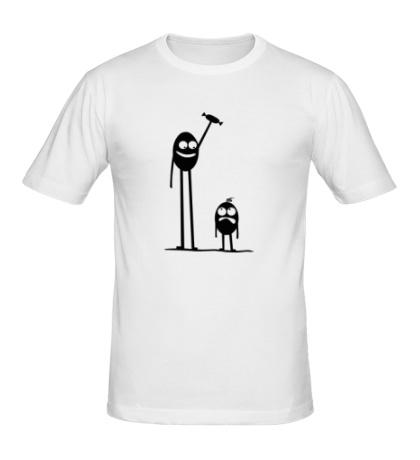 Мужская футболка Попробуй отбери
