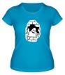 Женская футболка «Привидение в стене» - Фото 1