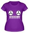 Женская футболка «Разговор записывается» - Фото 1