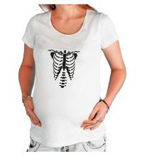 Футболка для беременной Рентген