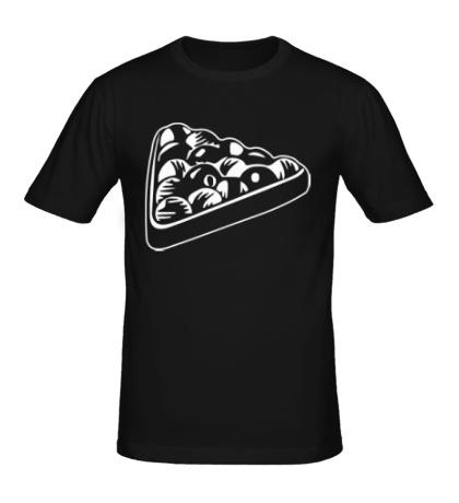 Мужская футболка «Бильярдные шары»
