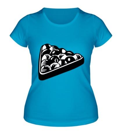 Женская футболка Бильярдные шары
