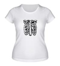 Женская футболка Рентген