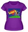 Женская футболка «Love is...» - Фото 1