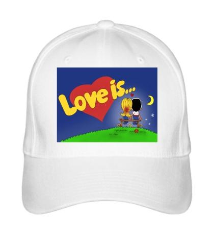 Бейсболка Love is...