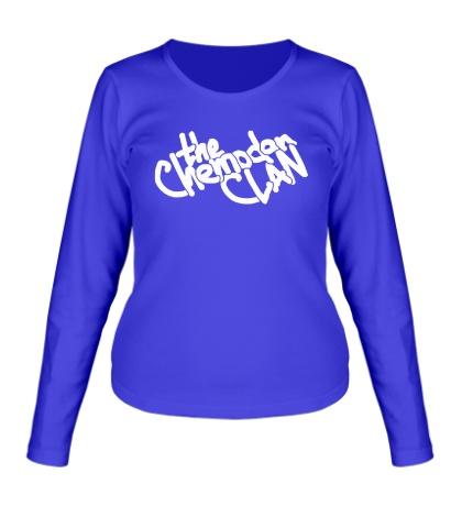 Женский лонгслив The Chemodan Clan Sign
