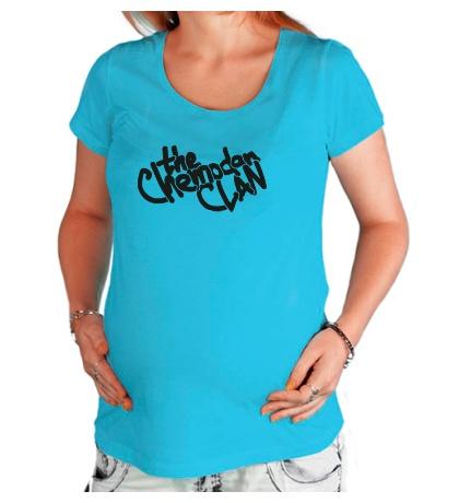 Футболка для беременной «The Chemodan Clan Sign»