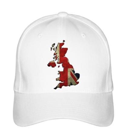 Бейсболка Карта Великобритании