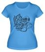 Женская футболка «Chemodan Clan Symbol» - Фото 1