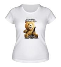 Женская футболка Медведь Тэд