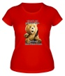 Женская футболка «Медведь Тэд» - Фото 1