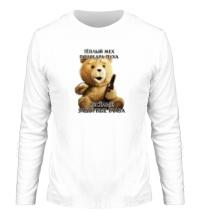 Мужской лонгслив Медведь Тэд