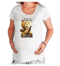 Футболка для беременной Медведь Тэд