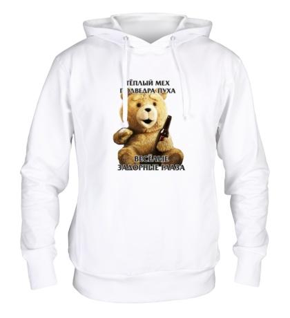 Толстовка с капюшоном «Медведь Тэд»
