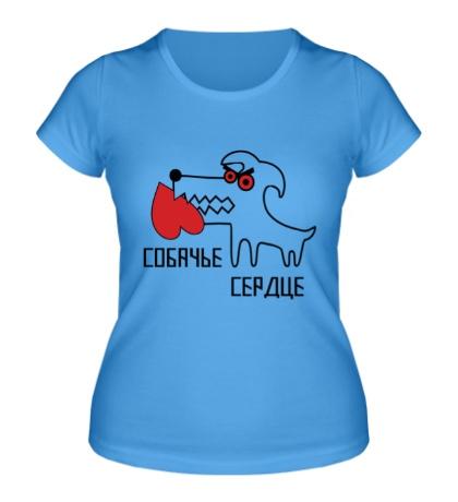 Женская футболка Собачье сердце