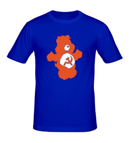 Мужская футболка Советский мишка