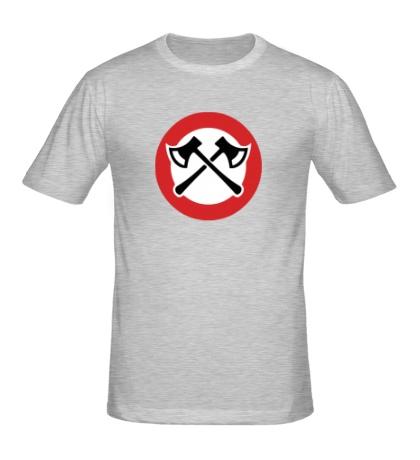 Мужская футболка Топорики