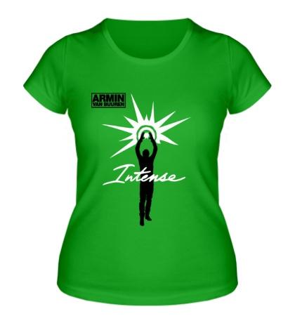 Женская футболка «Armin van Buuren: Intense»