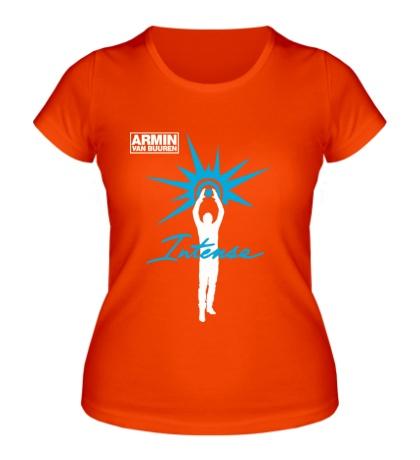 Женская футболка Armin van Buuren: Intense