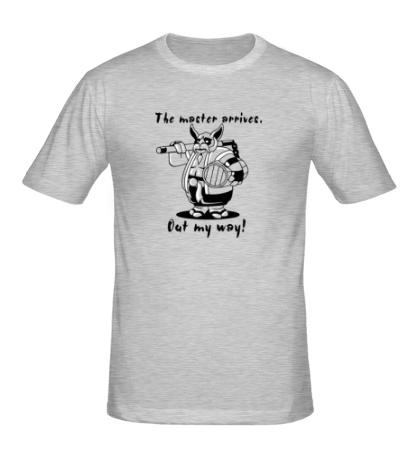 Мужская футболка «Brewmaster: Out my way»