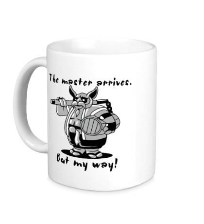 Керамическая кружка Brewmaster: Out my way