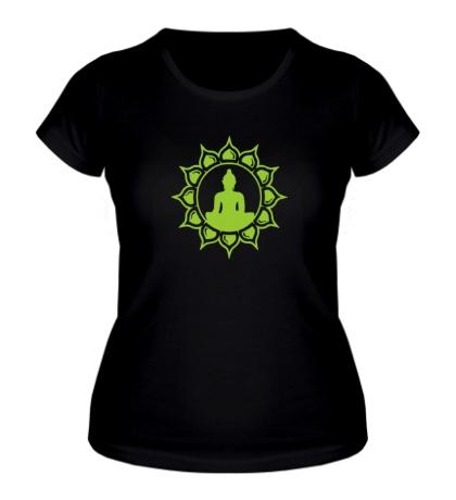 Женская футболка Символ медитации
