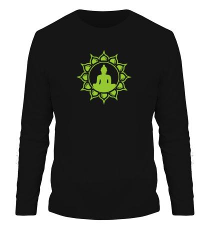 Мужской лонгслив Символ медитации
