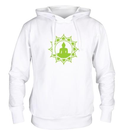 Толстовка с капюшоном Символ медитации