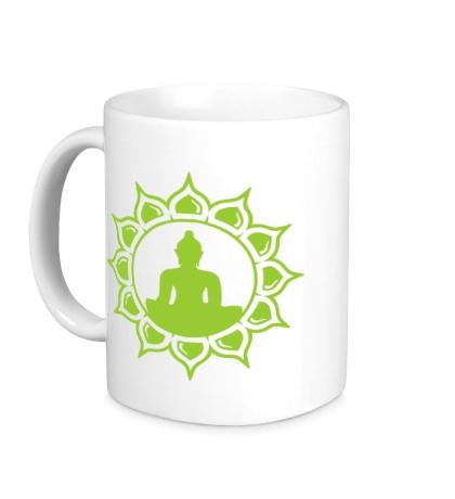 Керамическая кружка Символ медитации