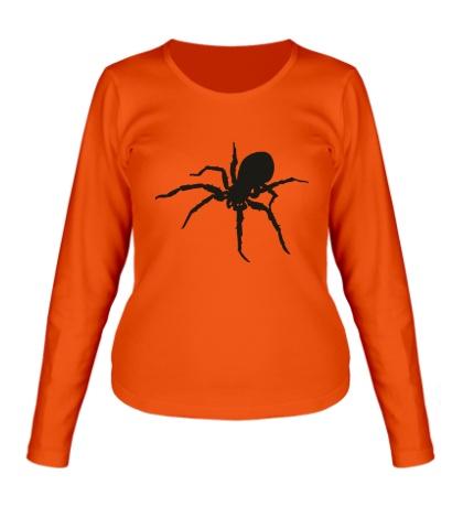 Женский лонгслив Ядовитый паук