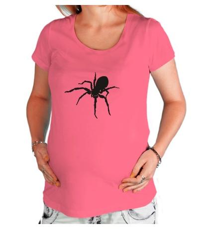 Футболка для беременной Ядовитый паук