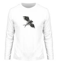 Мужской лонгслив Граната с крыльями