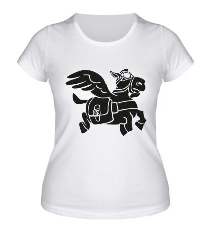 Женская футболка Fast Courier