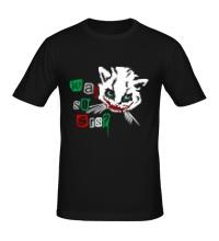 Мужская футболка Кот Джокер