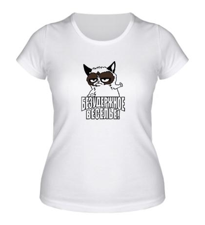Женская футболка Безудержное веселье