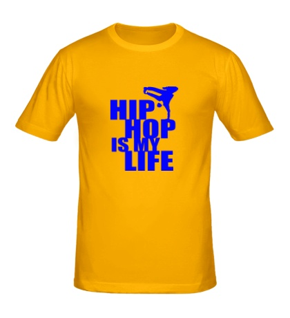 Мужская футболка Hip hop is my life